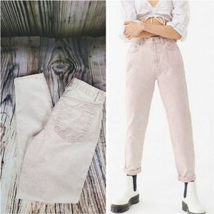 BDG by Urban Outfitters Pink Acid Mom Jeans